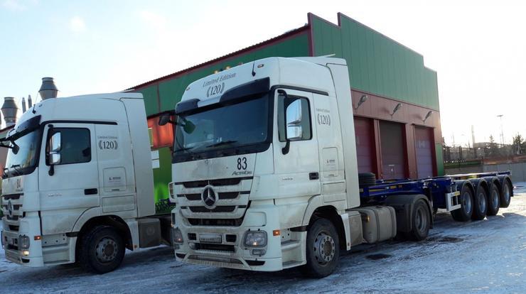 4-хосный полуприцеп контейнеровоз - необходимость или излишество?